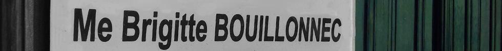 Maître Bouillonnec - Plaque avocat