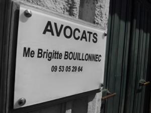 Plaque Maître Brigitte Bouillonnec